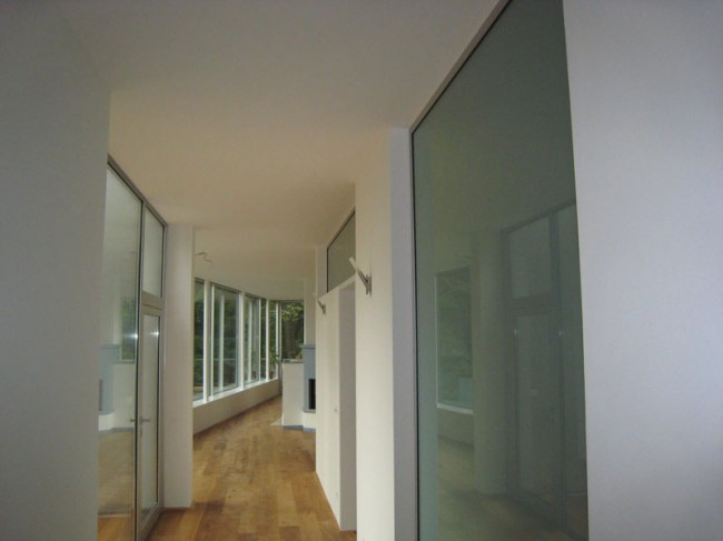 Blick vom Eingangsbereich
