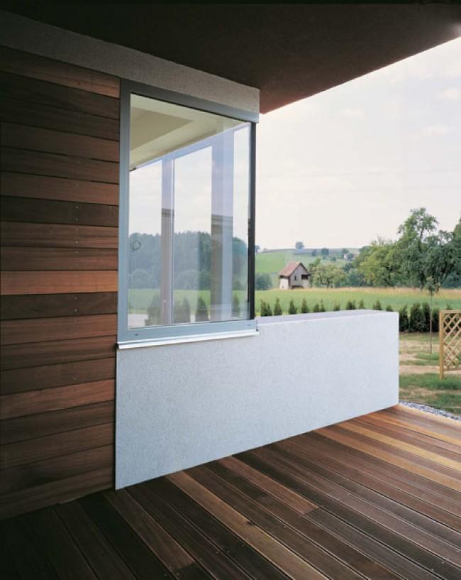 Terrasse witterungsgeschützt